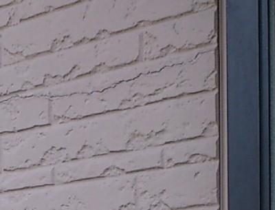 壁パネルのクラック
